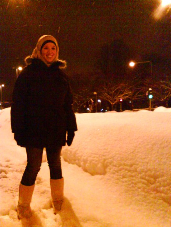 hijabi+snow